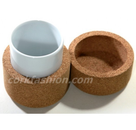Cocoon Small Cup (model 42.1W.01) from the manufacturer Simpleformsdesign in category Corkfashion
